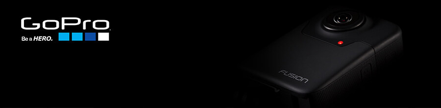 GoPro Fusion 5.2k 360 Camera
